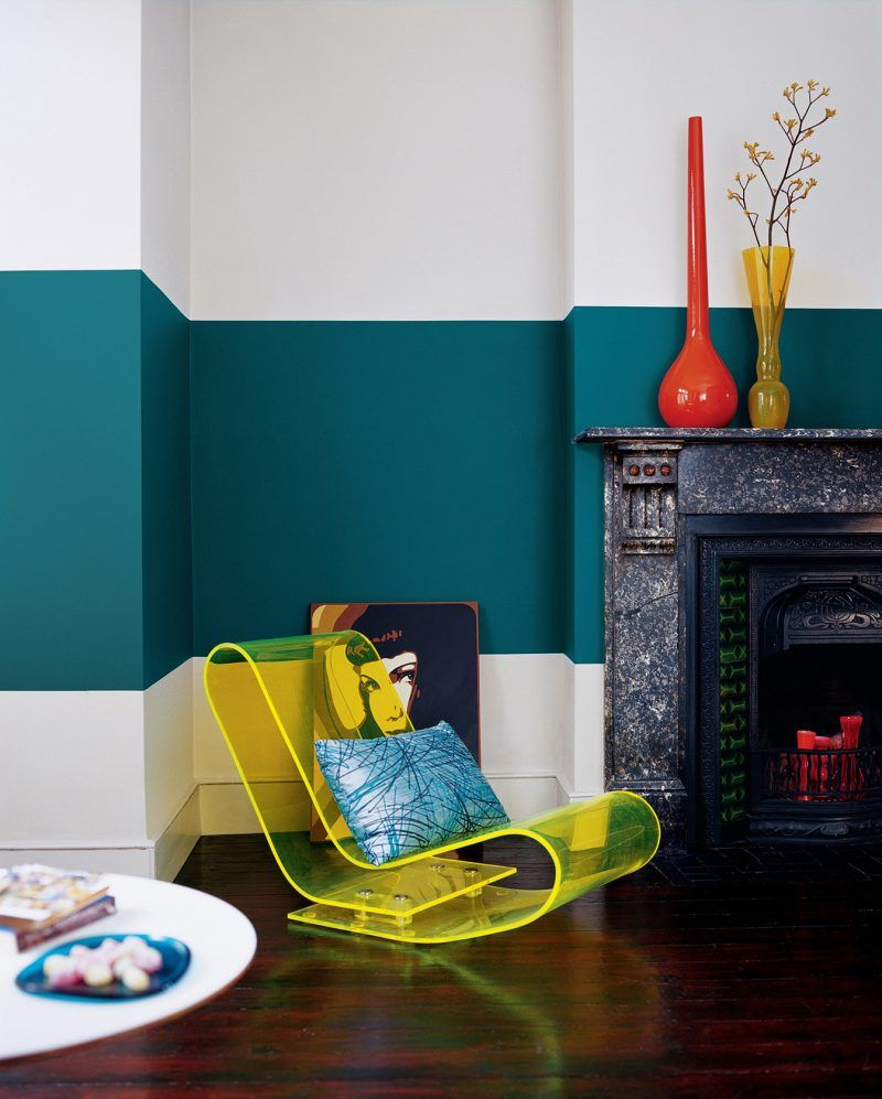 w nde richtig streichen tipps und 20 kreative ideen innendesign wandverkleidung wohnung. Black Bedroom Furniture Sets. Home Design Ideas