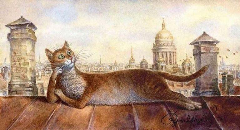 чем кошки санкт-петербурга картинки то
