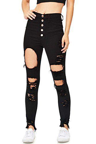 Photo of #Estremo #alta #Jeans #Juniors # Strappato # Jeans strappati Pantaloni strappati