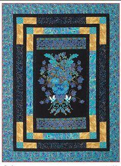 Quilt Pattern - Mountainpeek Creations - Bevels | Patterns, Panel ... : quilt patterns with panels - Adamdwight.com