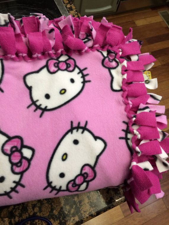 This Item Is Unavailable Hello Kitty No Sew Blankets Kitty