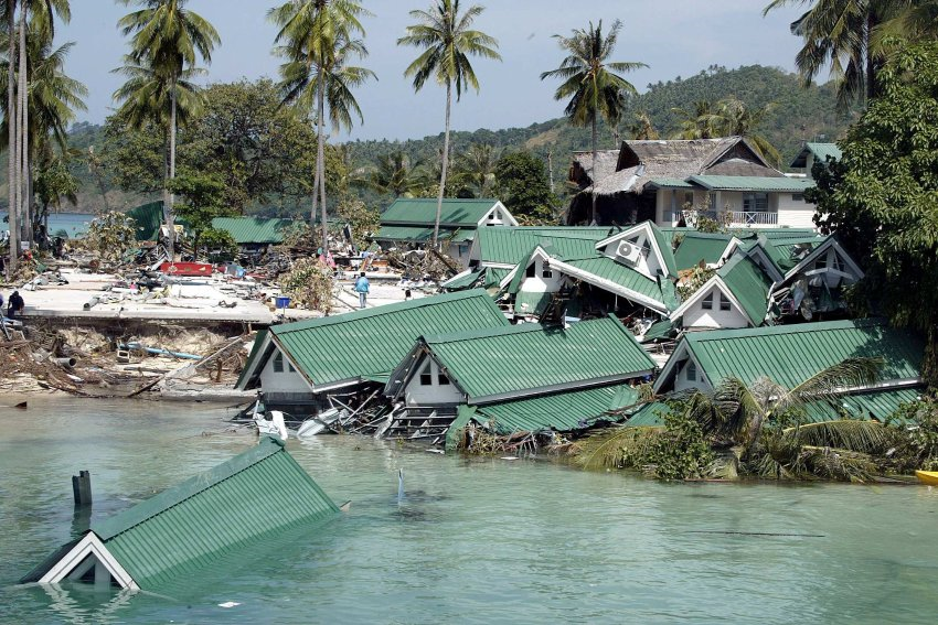 Tsunami Auf Den Nikobaren 2004 Accidents And Catastrophes