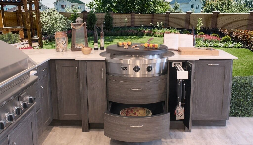 10 Kitchen Cabinet Hardware Ideas 2021 Surpassing The Jobs Outdoor Kitchen Cabinets Modern Outdoor Kitchen Outdoor Cabinet