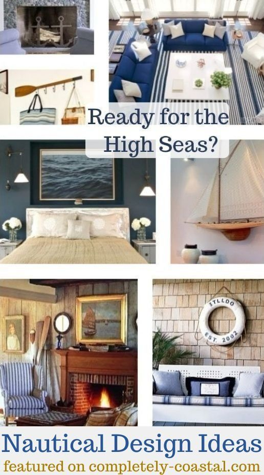 Nautical decor ideas  interior design elements also best images in colors rh pinterest