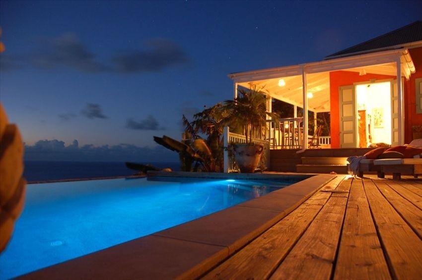 Das Meer um die Ecke, der Pool direkt vor der Tür - so muss ein urlaub aussehen! | Tortola, Britische Jungferninseln, Karibik, Objekt-Nr. 156409