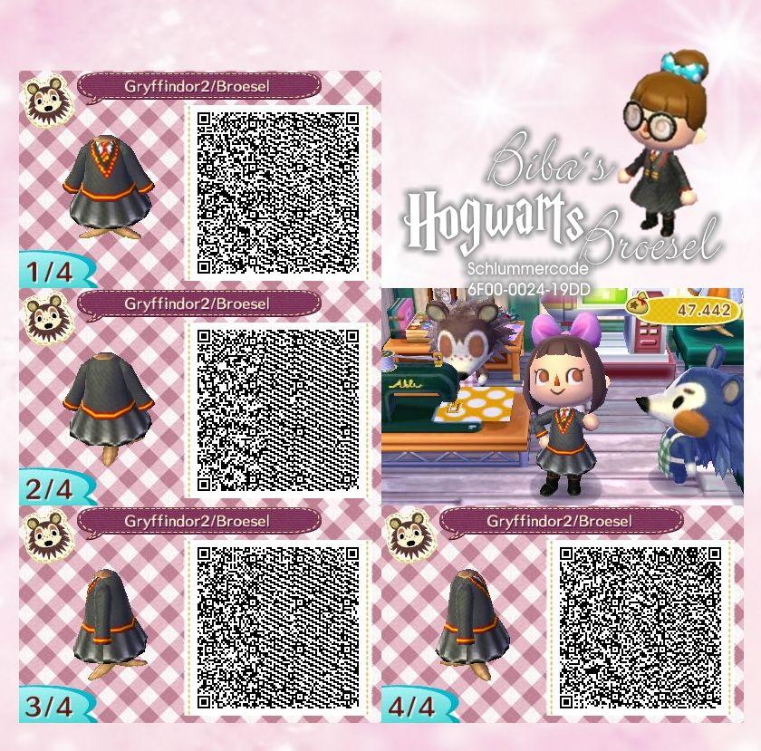 Dress Gryffindor Wizard Zauberer Broesel Spiel A Letter From Hogwarts Animal Crossing Animal Crossing Qr Codes Clothes Qr Codes Animal Crossing