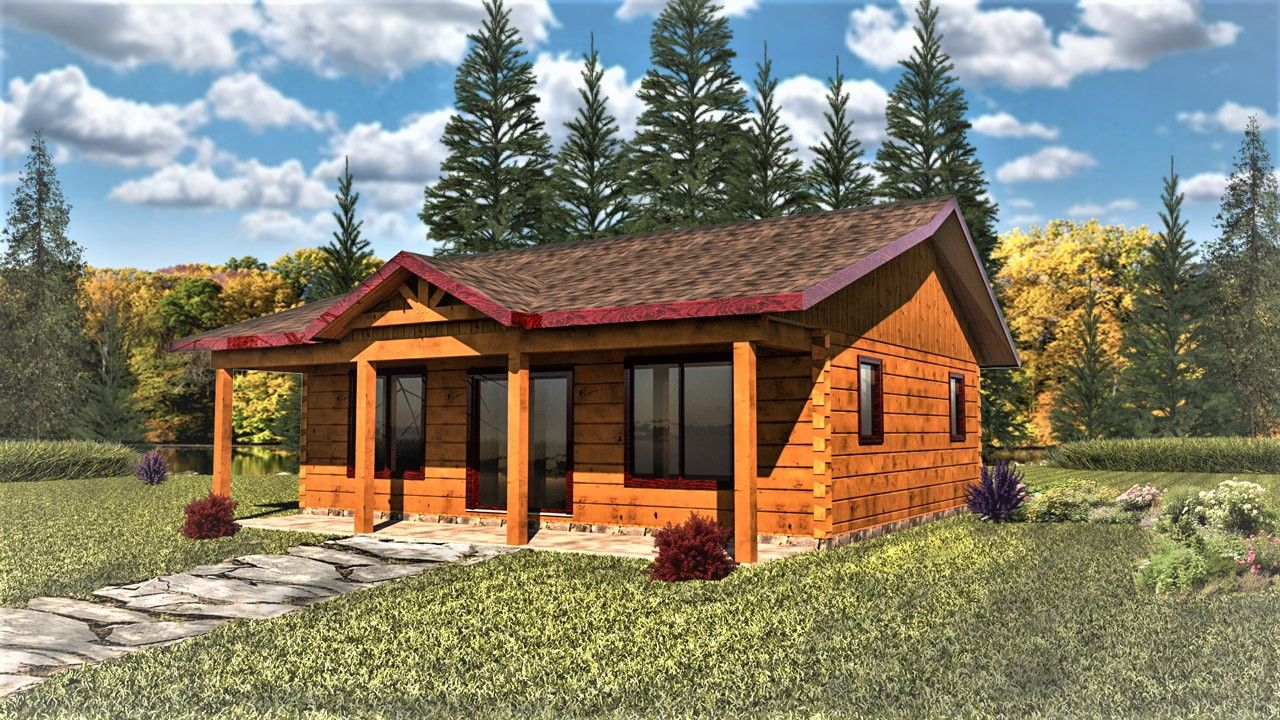 Glenwood Small True North Log Homes In 2020 Log Homes Log Cabin Floor Plans Log Home Floor Plans