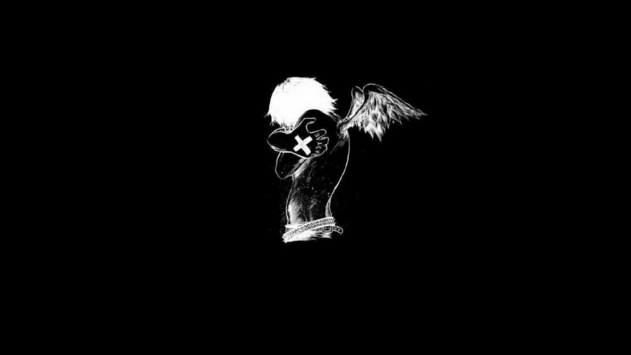 Черно белые картинки с надписью на аву