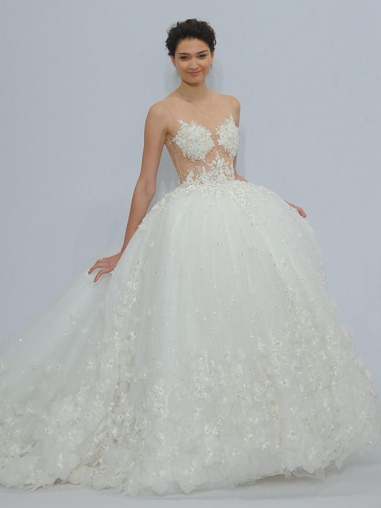 Randy Fenoli Spring 2018 Shimmering Wedding Dresses Make A