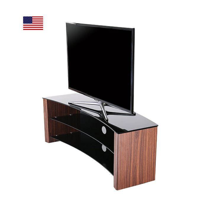 Stand Vase On Sale At Reasonable Prices, Buy Fitueyes Curved TV Stand 3  Tiers Component Shelf Home Entertainment Center For Up To 58 Inch Flat  Screen TV ...
