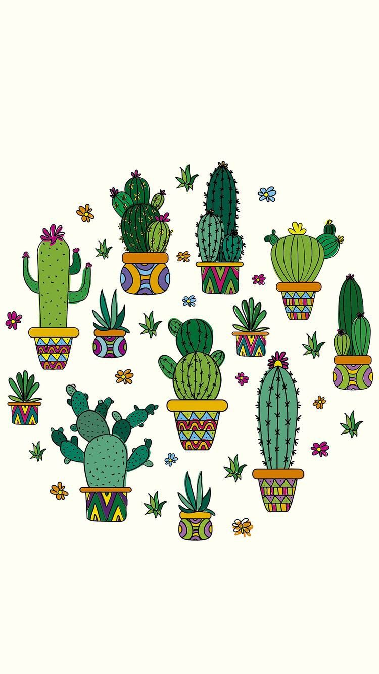 Dibujos De Macetas Pin By Erika Aldana On Decoraciones Cactus Dibujo Diseños De