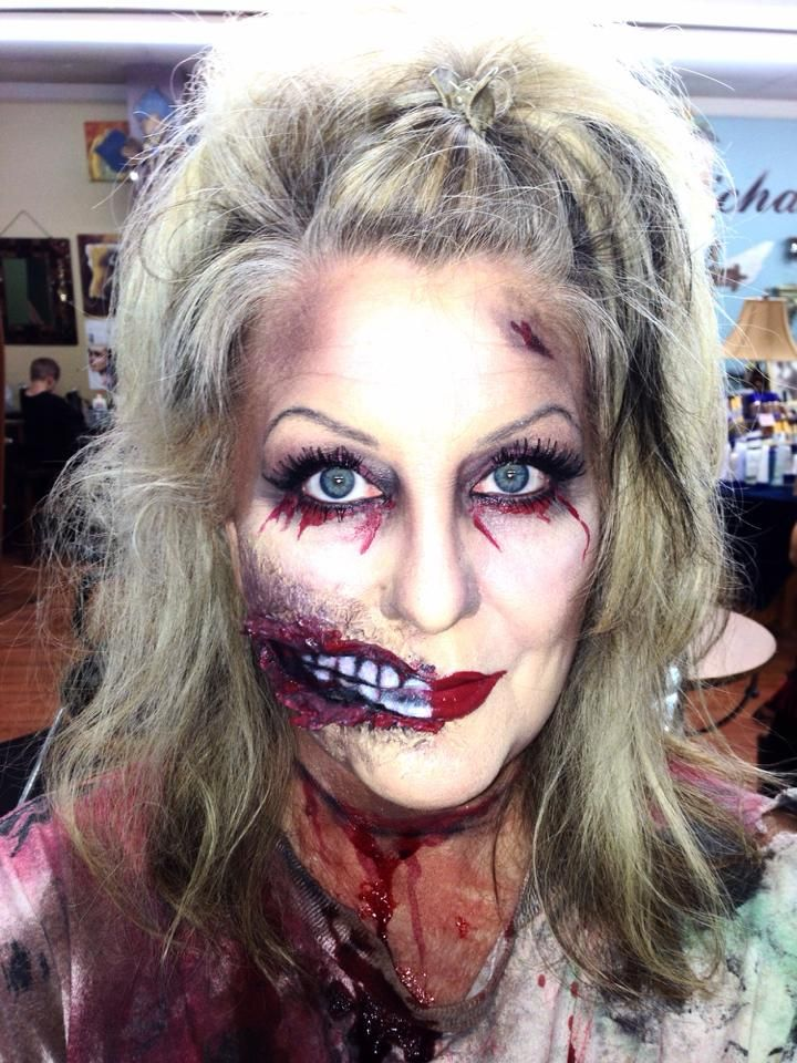 zombie #makeup for #halloween all #SeneGence #makeup used! stays ...