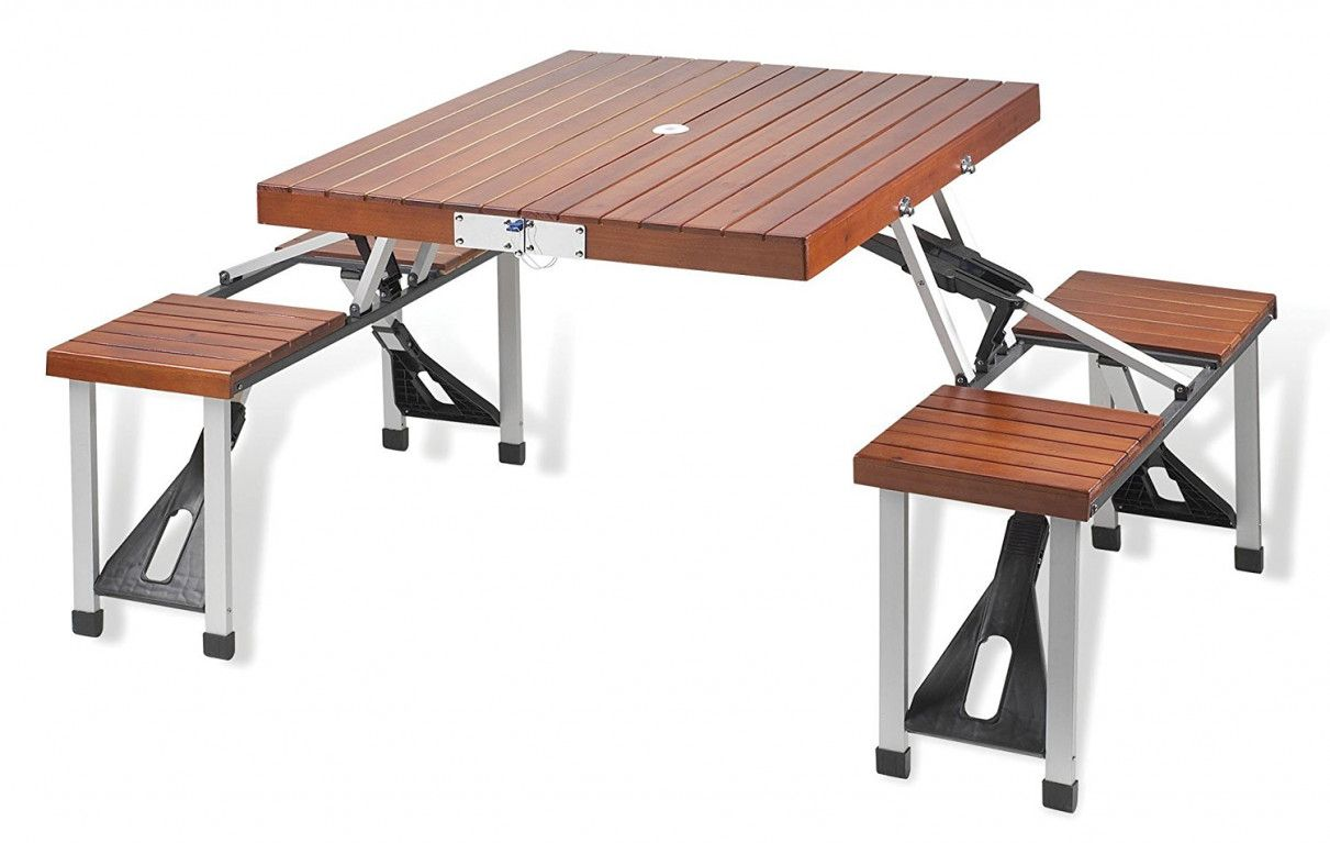 Folding Camping Picnic Table and Chairs - Luxury Home Office ...