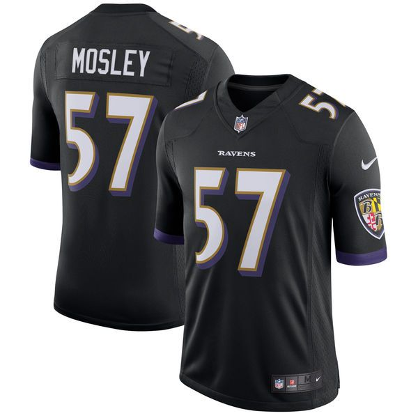 C.J. Mosley Baltimore Ravens Nike Speed Machine Limited Player Jersey -  Black - $149.99