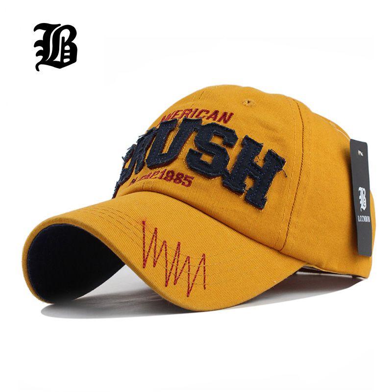 8a3e9a27d4b  FLB  Cotton Letter CRUSH Brand Baseball Cap Hats for Men Women Snapback  Gorras Casquette