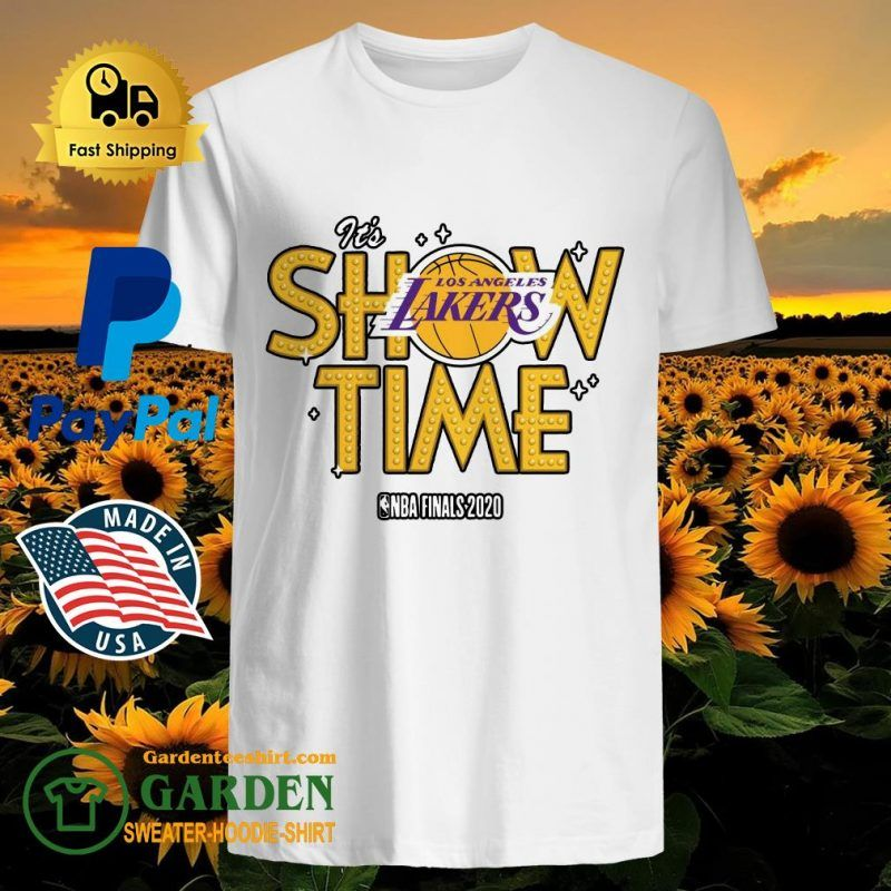 It S Show Time Los Angeles Lakers Nba Finals 2020 Shirt T Shirt Shop In 2020 Nba Finals Los Angeles Lakers Showtime