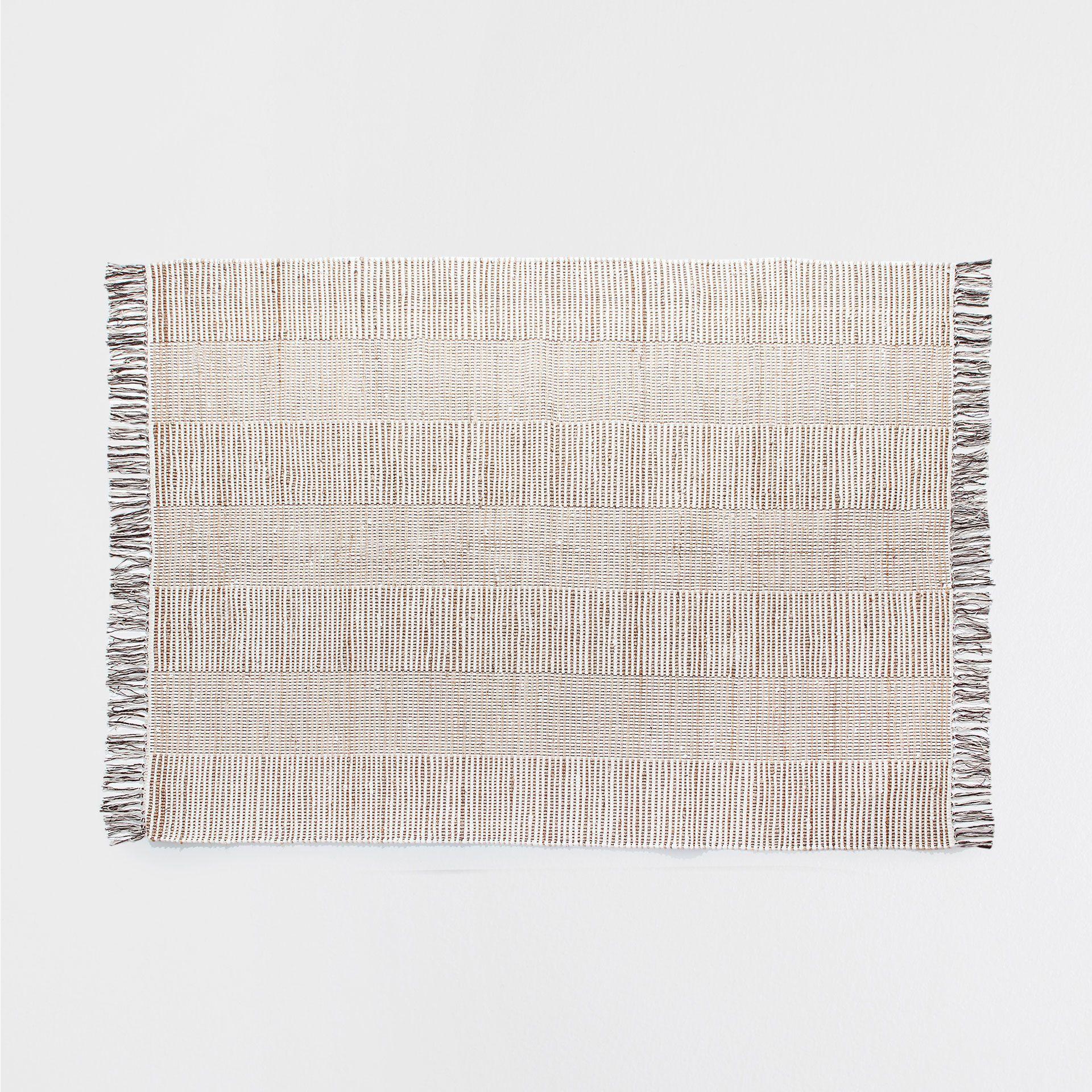 Jute Cotton Rug  Rugs  Decoration - Zara Home