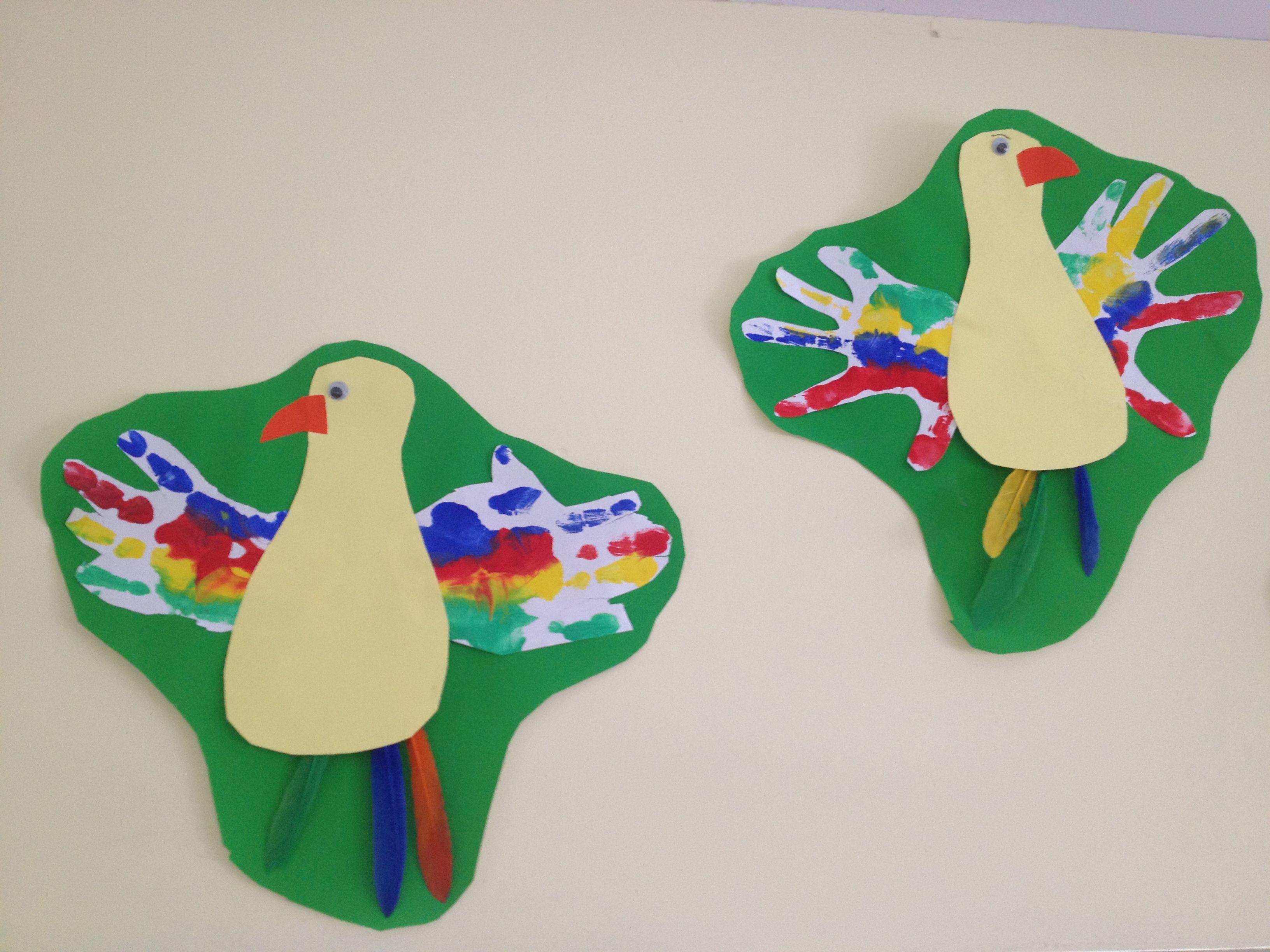 Pirate Parrot Jungle Craft