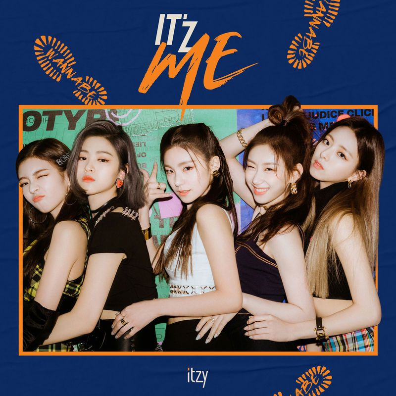Download Itzy Wannabe Full Album Itzy Itz Me Music Mp3 Song Itzy Album Covers Korean Girl Groups