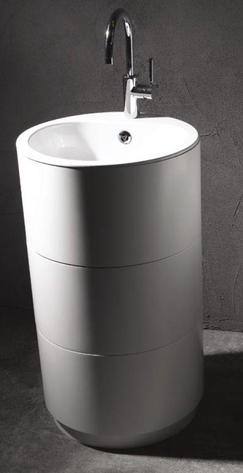 lavabo freestanding moon di arlex rivenditore maes srl savigliano ... - Arlex Arredo Bagno