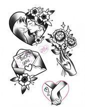 Photo of Tatouage Traditionnel Neo Heart 35+ Idées – #heart #Ideas #Neo #tattoo #traditional