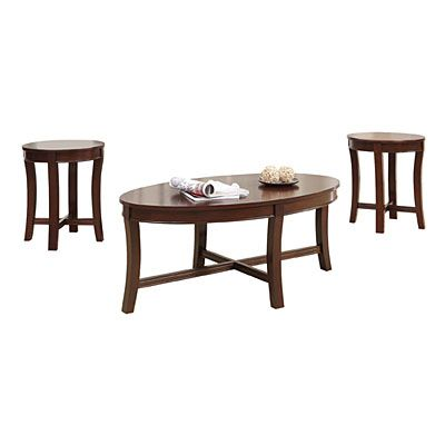 Best Espresso Wood 3 Piece Occasional Table Set At Big Lots 400 x 300