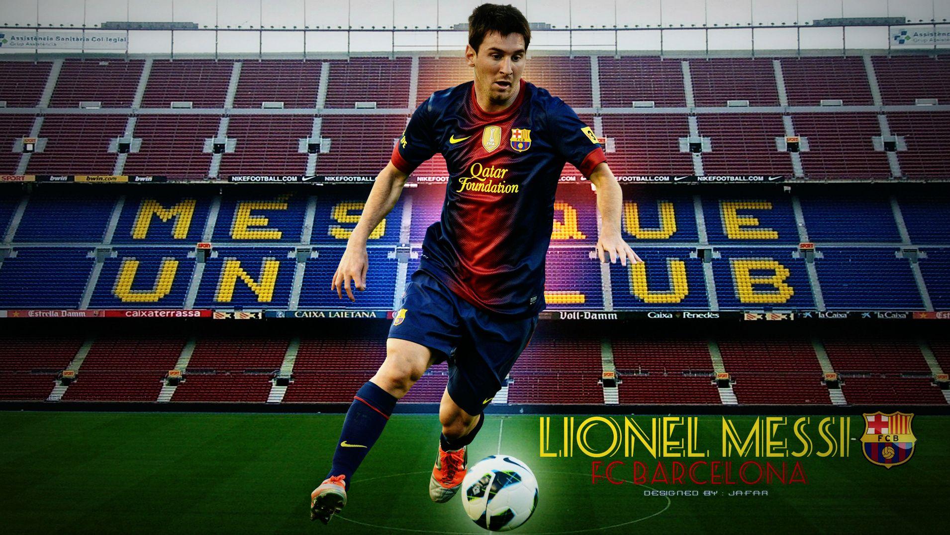 new barcelona lionel messi 2013 full hd wallpaper | messi