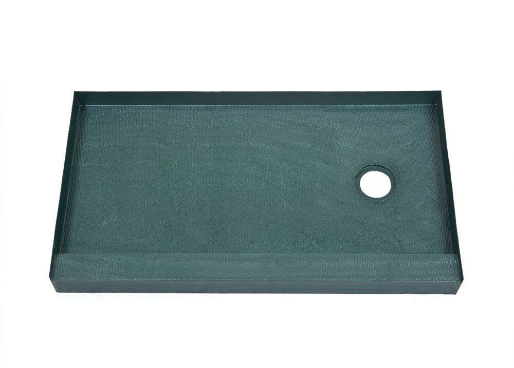 32 X 60 Right Drain Ready To Tile Shower Base Free Shipping