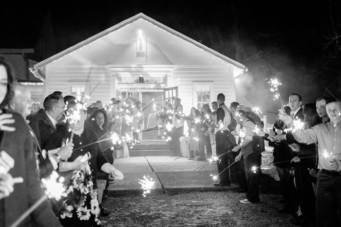 Wedding Day Exit | Black Dog Photo Co. | As Seen on TodaysBride.com