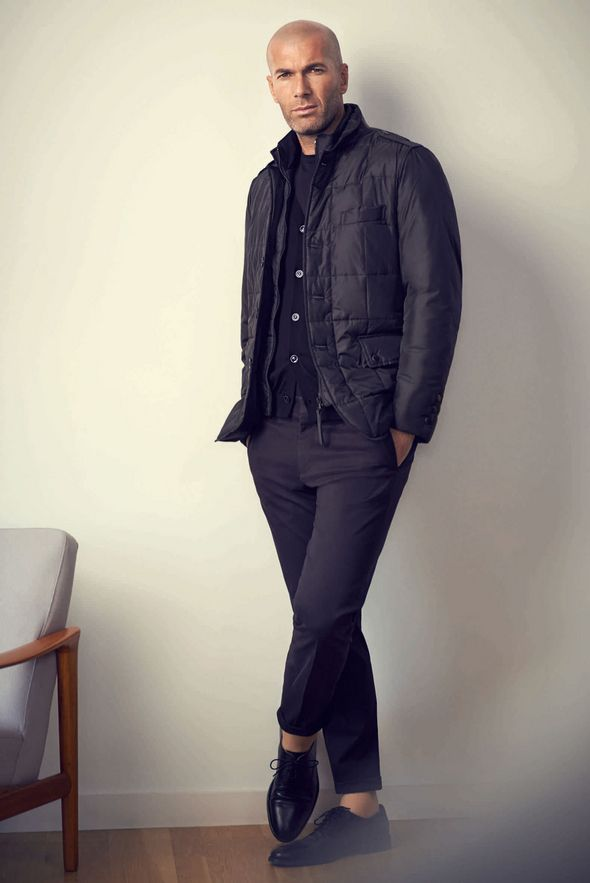 Zinedine Zidane  Mango s New Man  style   look   HOMME   Pinterest 53458d2533b8