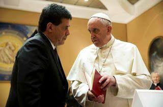 Así Somos: El papa Francisco recibió al presidente del Paragu...