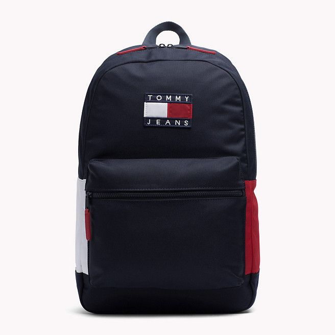 664e7f535a8c Tommy Hilfiger Backpack - tommy navy  rwb (Blue) - Tommy Hilfiger Backpacks  - main image