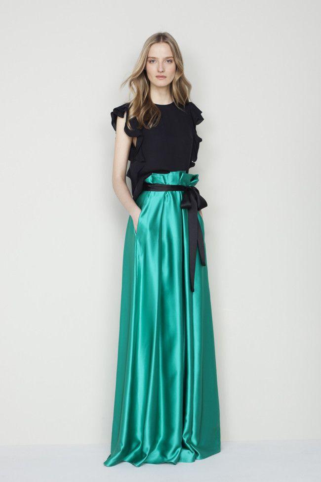 conviértete en la invitada con más estilo: vestidos largos para