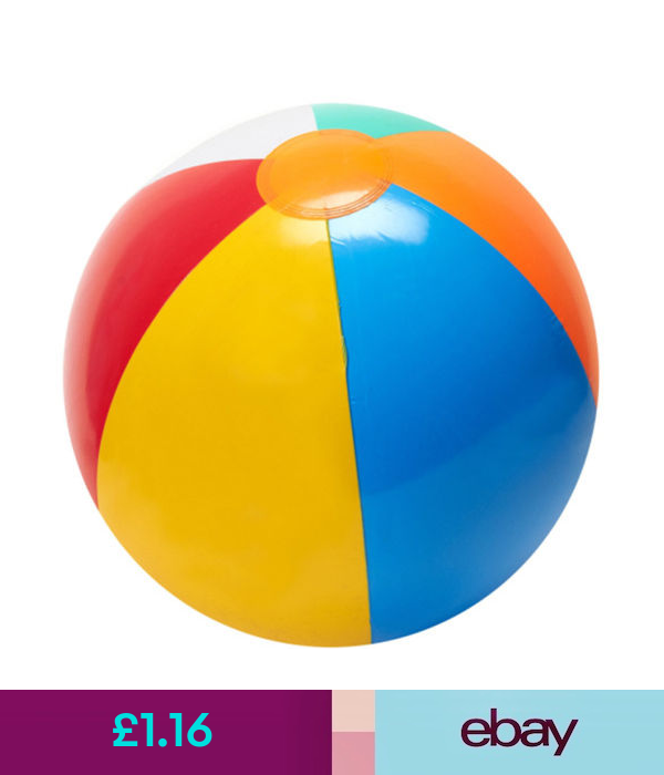 23cm Colorful Assorted Beach Balls Inflatable Blowup Panel Pool Party Toy Ball Party Toys Pool Party Beach Ball