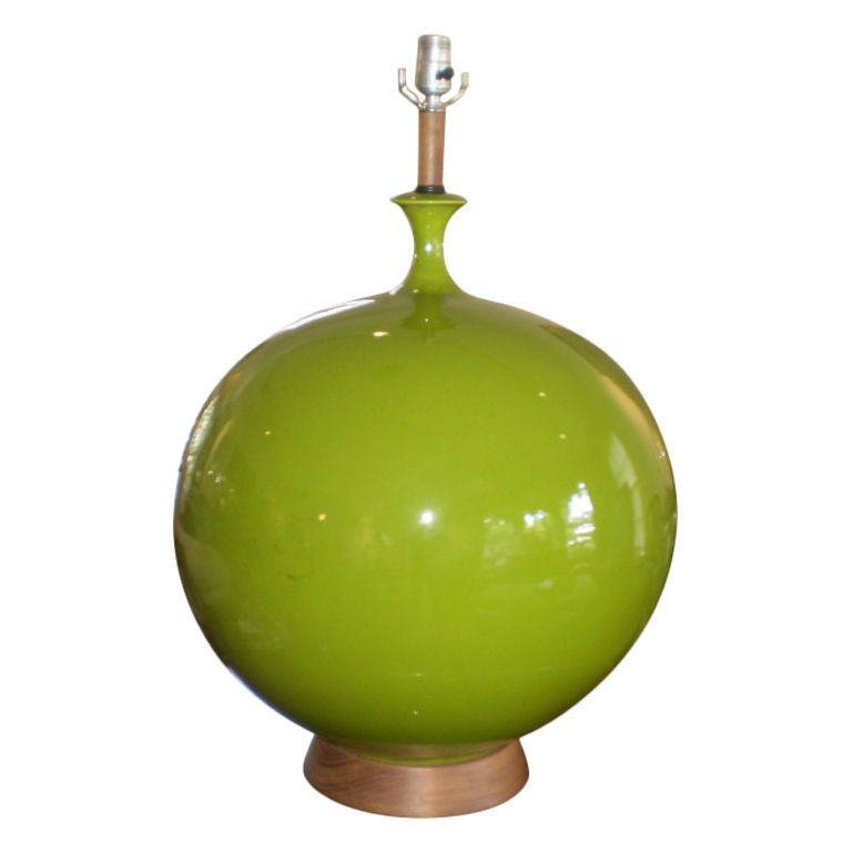 Monumental mid century modern lime green lamp modern table green monumental mid century modern lime green lamp mozeypictures Image collections