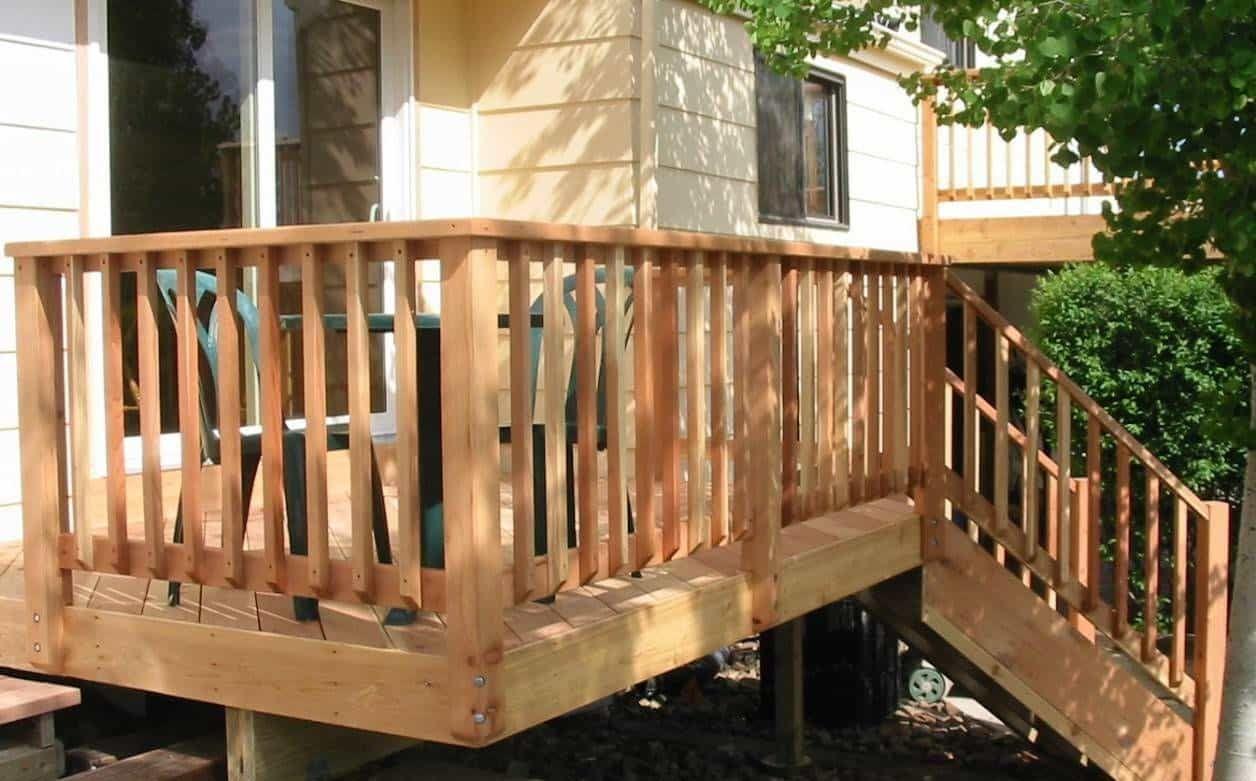 Superb Outdoor Deck Railing Designs
