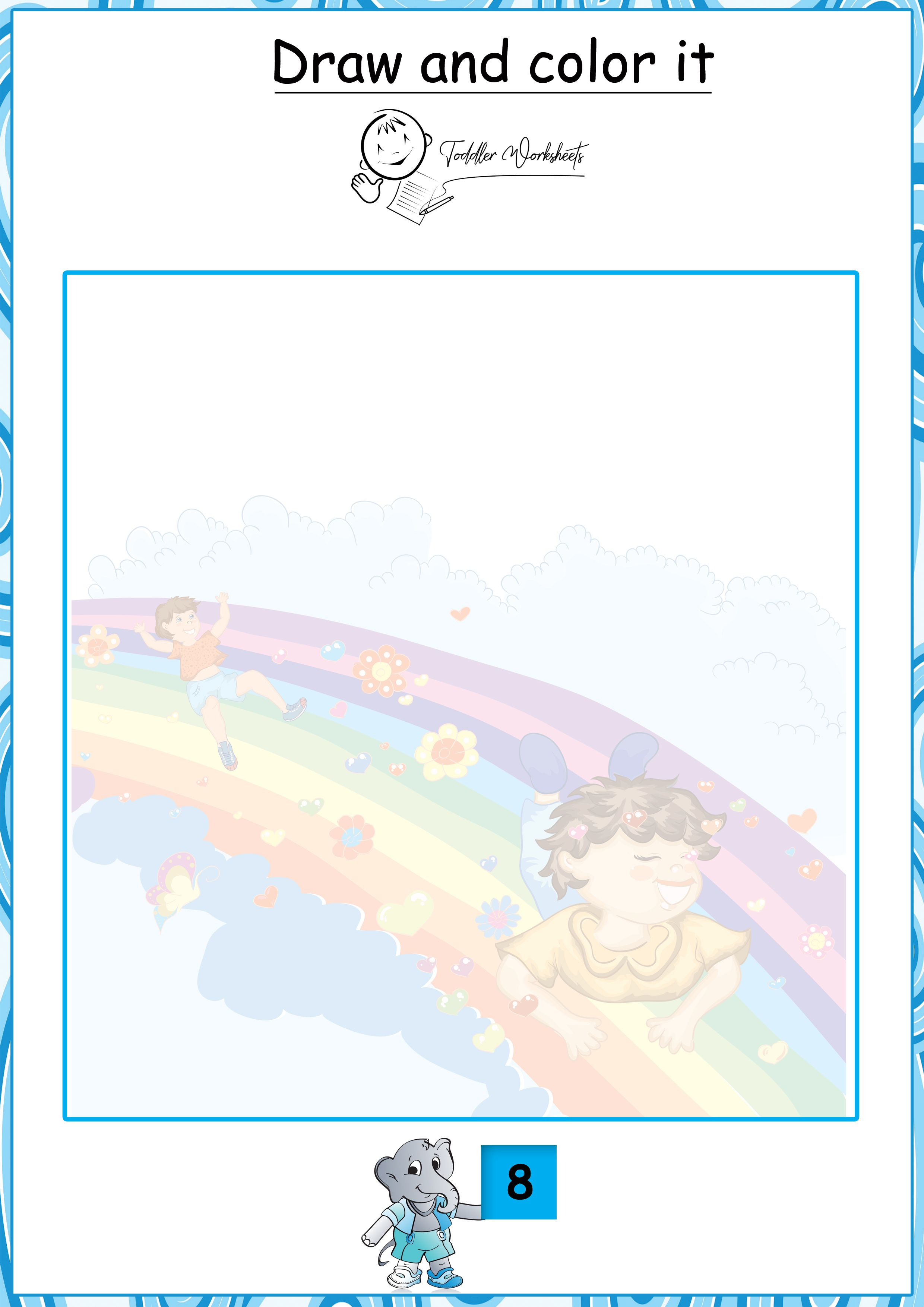 Free Preschool Tracing Worksheets