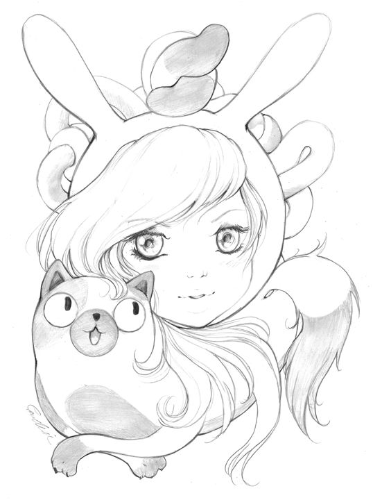 Fionna the Human and Cake   Adventure Time with Fionna and ...