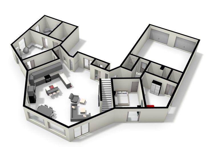 Thesis Hexagon House Octagon House House Floor Plans