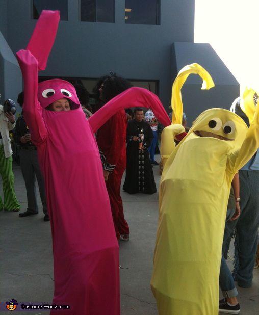 Maskenkostüm Herren Wacky Waving Tube Man Fancy Dress Halloween