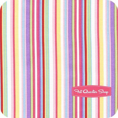 Toy Tales Pastel Stripe Yardage SKU# 35252-4