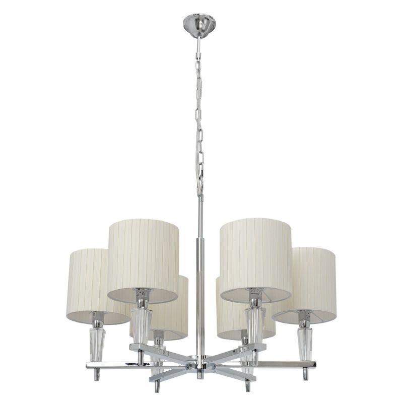 Kronleuchter Mit Lampenschirmen Moderne Kronlechter Hier: Chiaro 460010706 Moderner Kronleuchter Mit Weißen