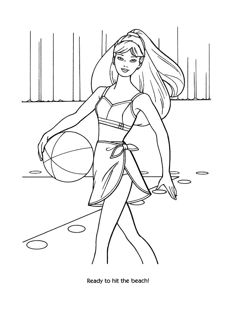 Pin By Erica Heitz On Coloring Pages Barbie Coloring Pages Barbie
