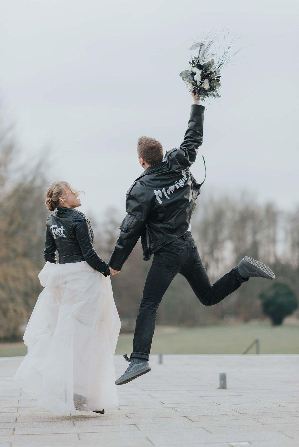 Hochzeitsinspiration: Urban & Rockig in Schwarz-Weiß FOTOGRAFIE