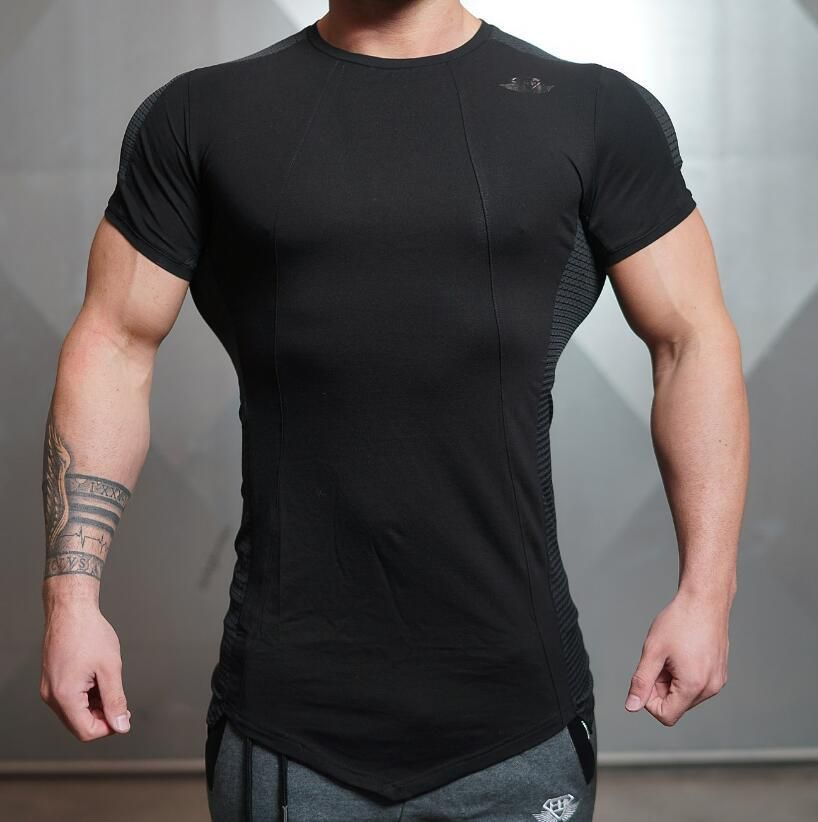 278dceb9 Men body engineers T-Shirts Male T shirt Homme Summer Short Sleeve T Shirts  Brand Men's Tee Shirts Man Clothes Fashion casual