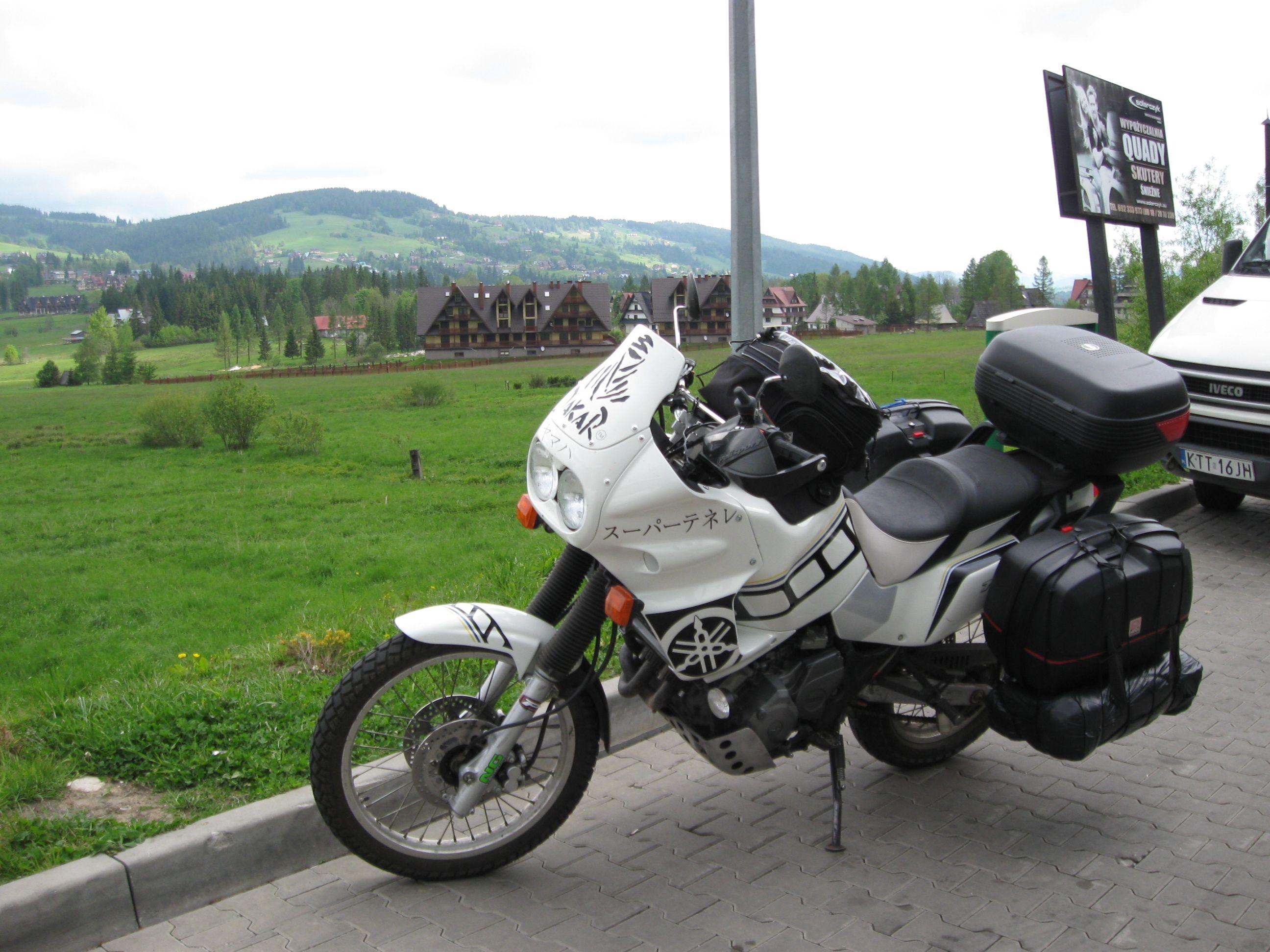 My super tenere, In Zakopane, PL.