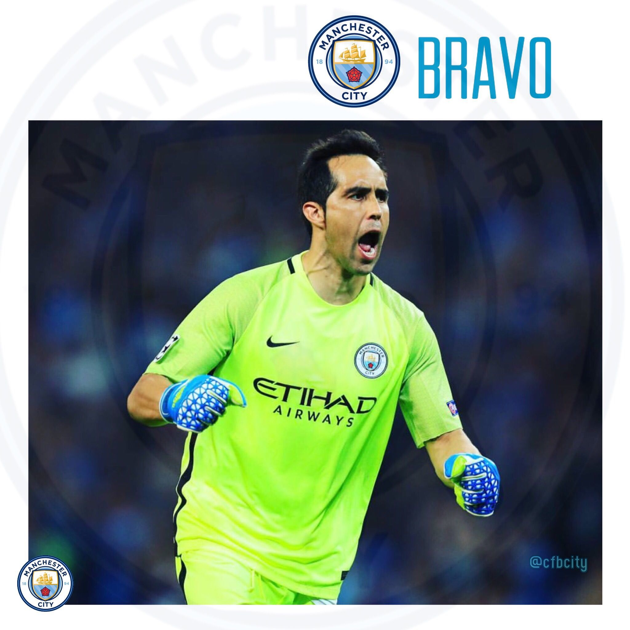 Official Manchester City De-Bruyne 1718 Maxi Poster 91.5 x 61cm The Sky Blue