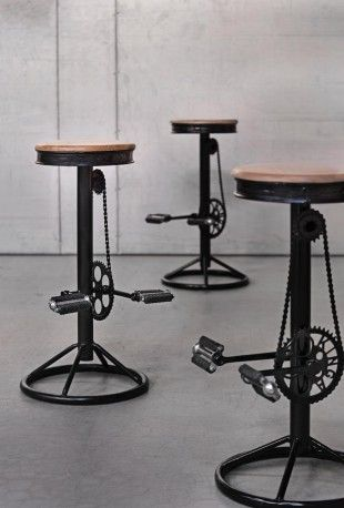 Bicycle Seat Stool In 2019 Bicycle Stools And Tables