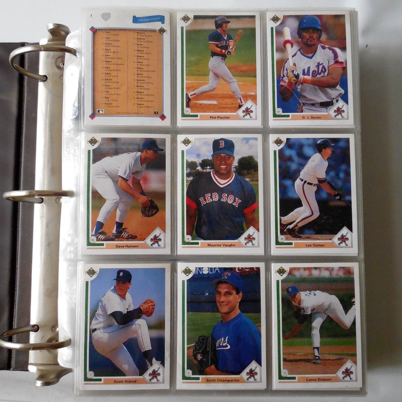 1991 upper deck baseball 800 cards completed collection