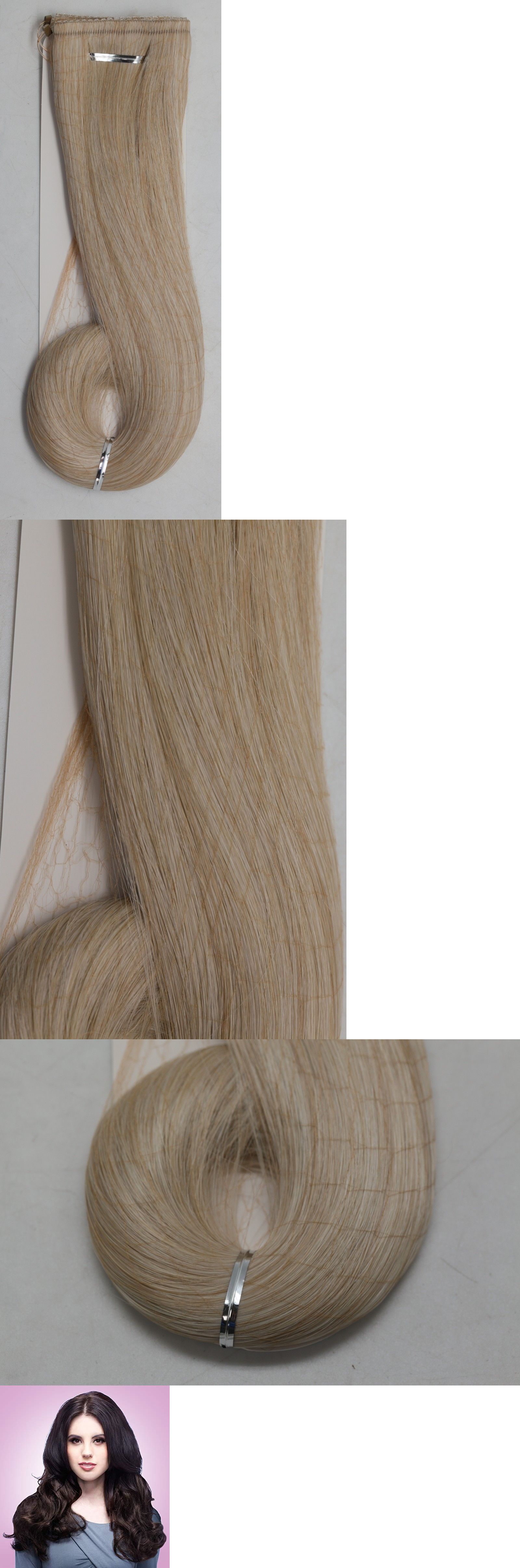 Daisy Fuentes Double Layer Secret Extensions Light Golden Blonde 223